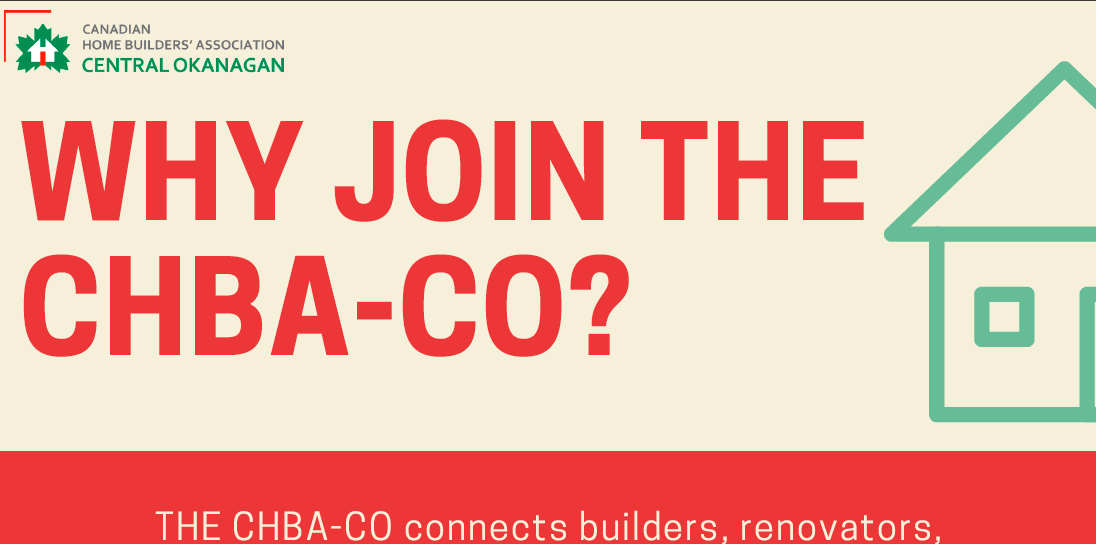 Why join the CHBA-CO